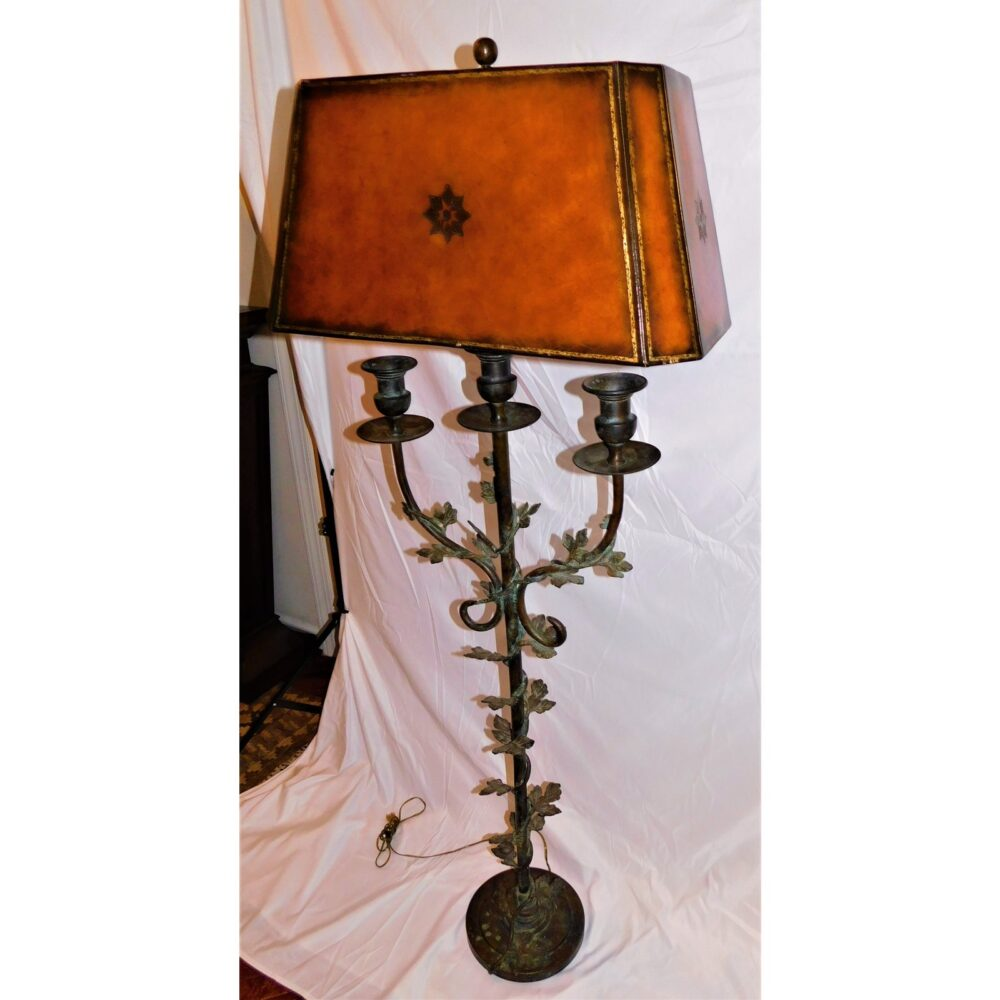 1990s-vintage-maitland-smith-wrought-iron-verdigris-floor-lamp-4295