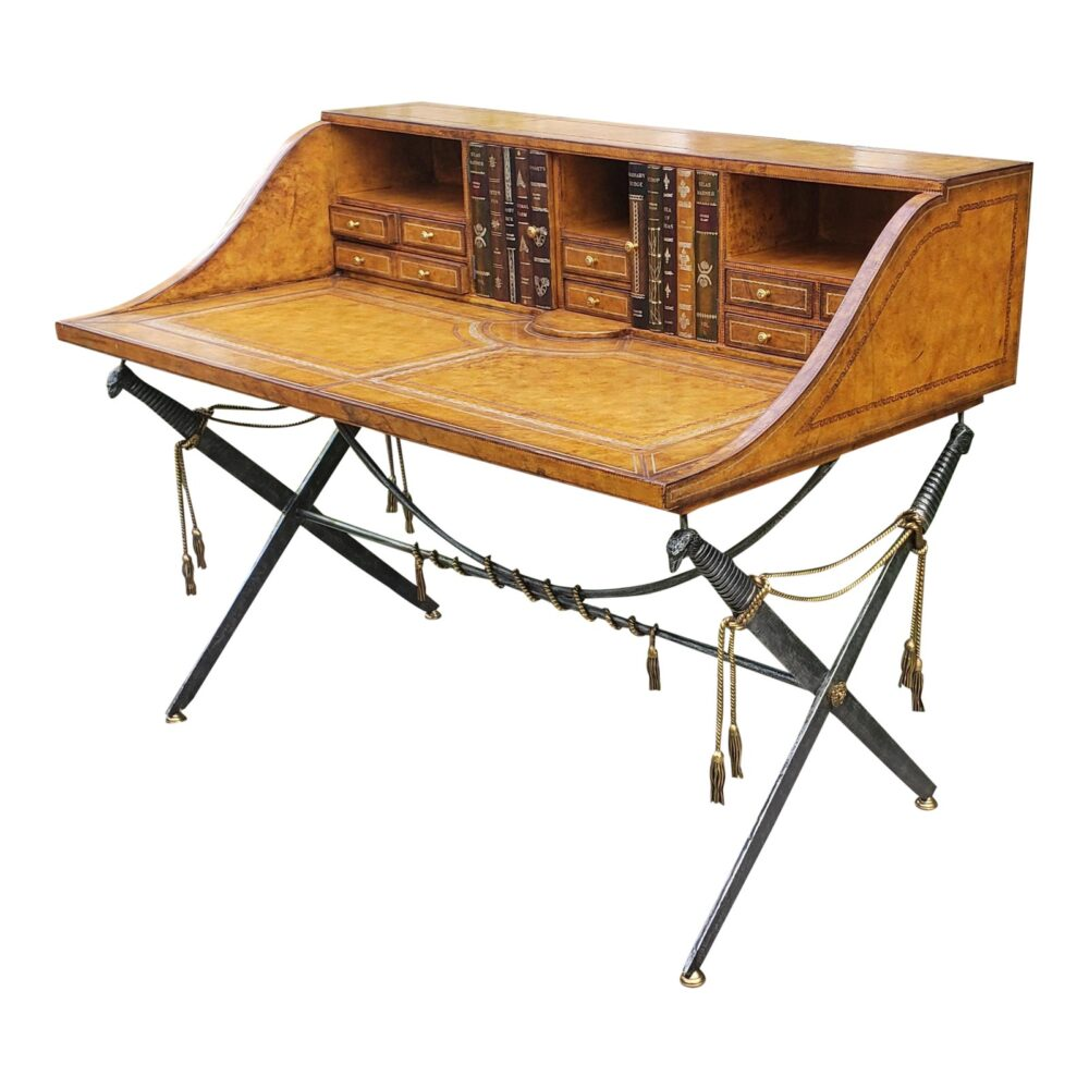 maitland-smith-leather-clad-campaign-secetary-desk-7305
