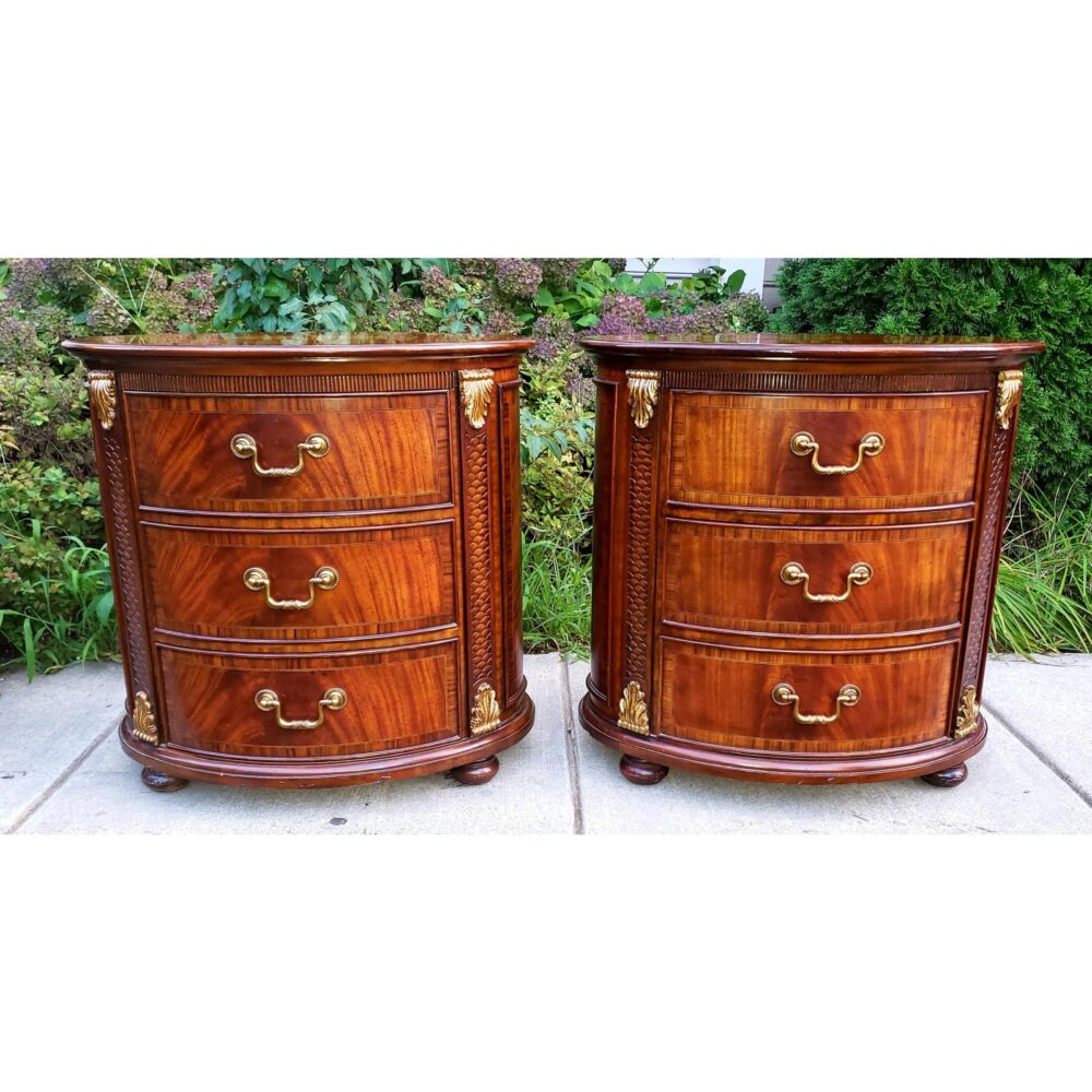 maitland-smith-oval-inlaid-3-drawer-nightstands-commode-end-tables-a-pair-7895