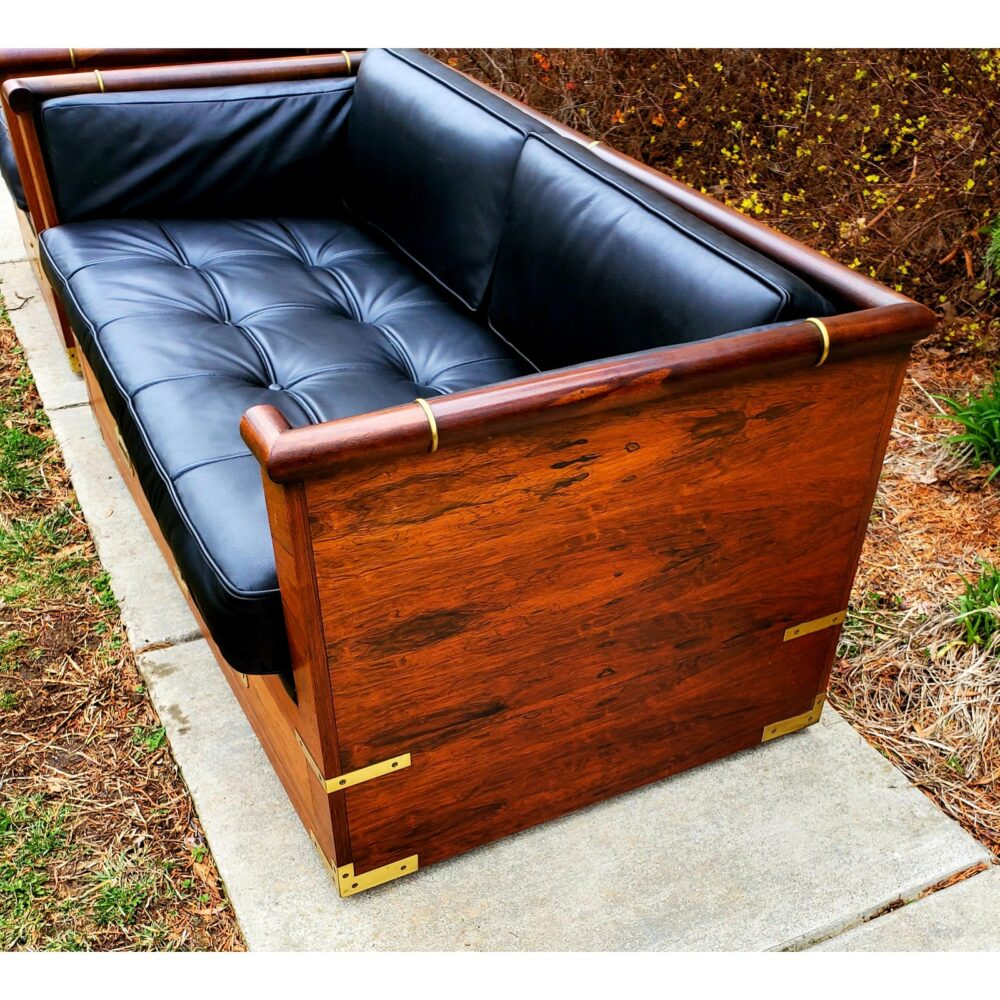 marge-carson-campaign-rosewood-and-tufted-leather-loveseat-6933