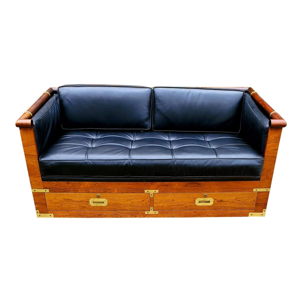 marge-carson-campaign-rosewood-and-tufted-leather-loveseat-8302