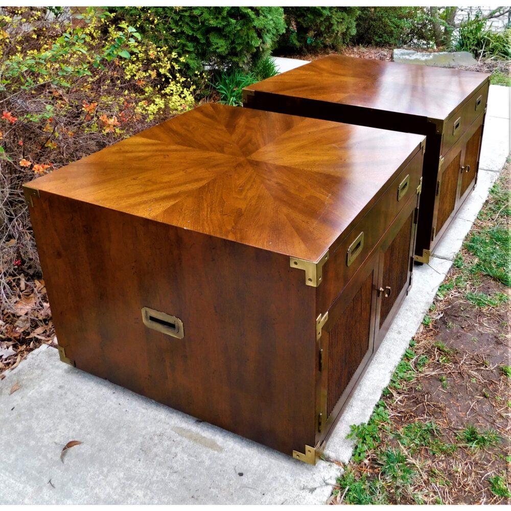 vintage-campaign-henredon-end-tables-a-pair-3747