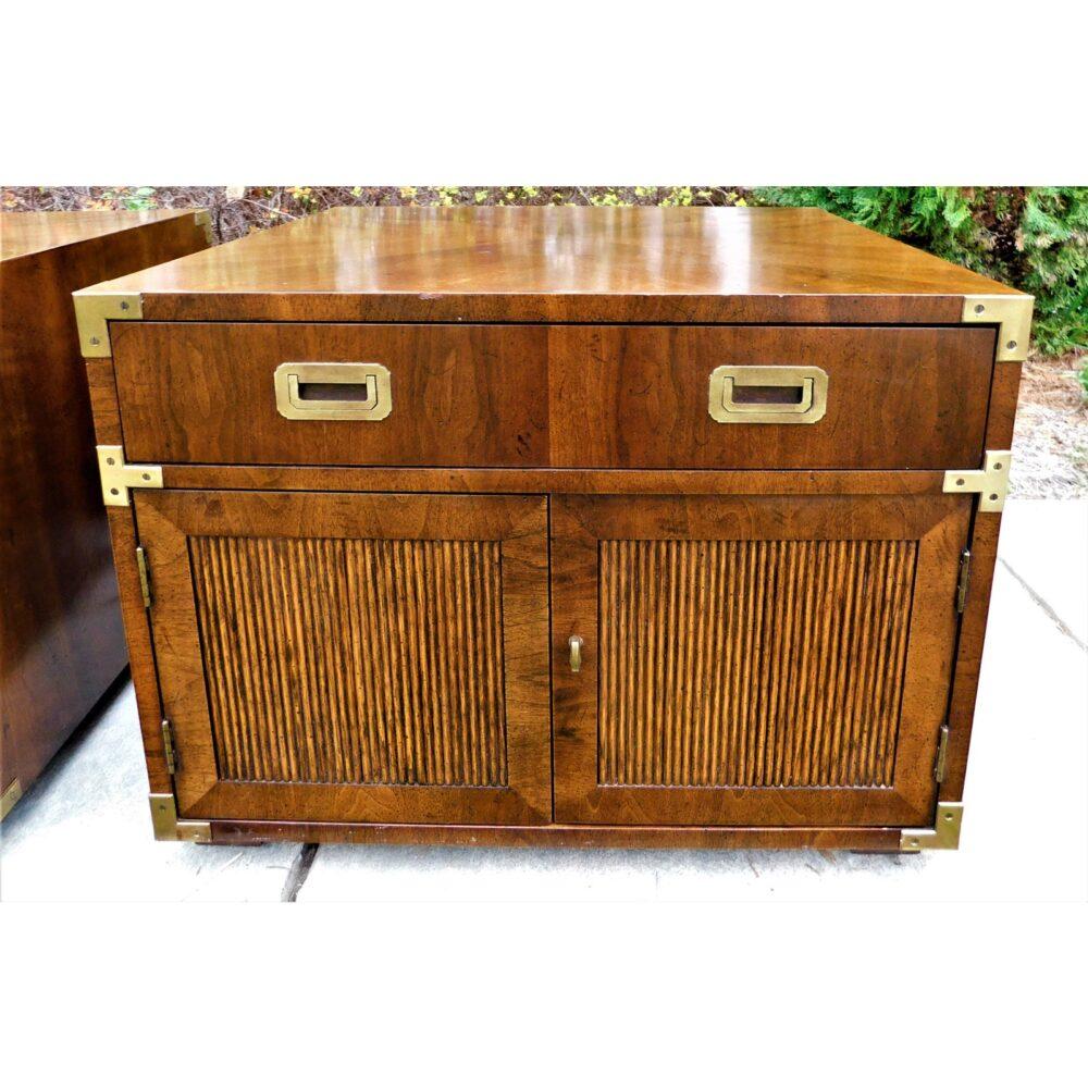 vintage-campaign-henredon-end-tables-a-pair-4980