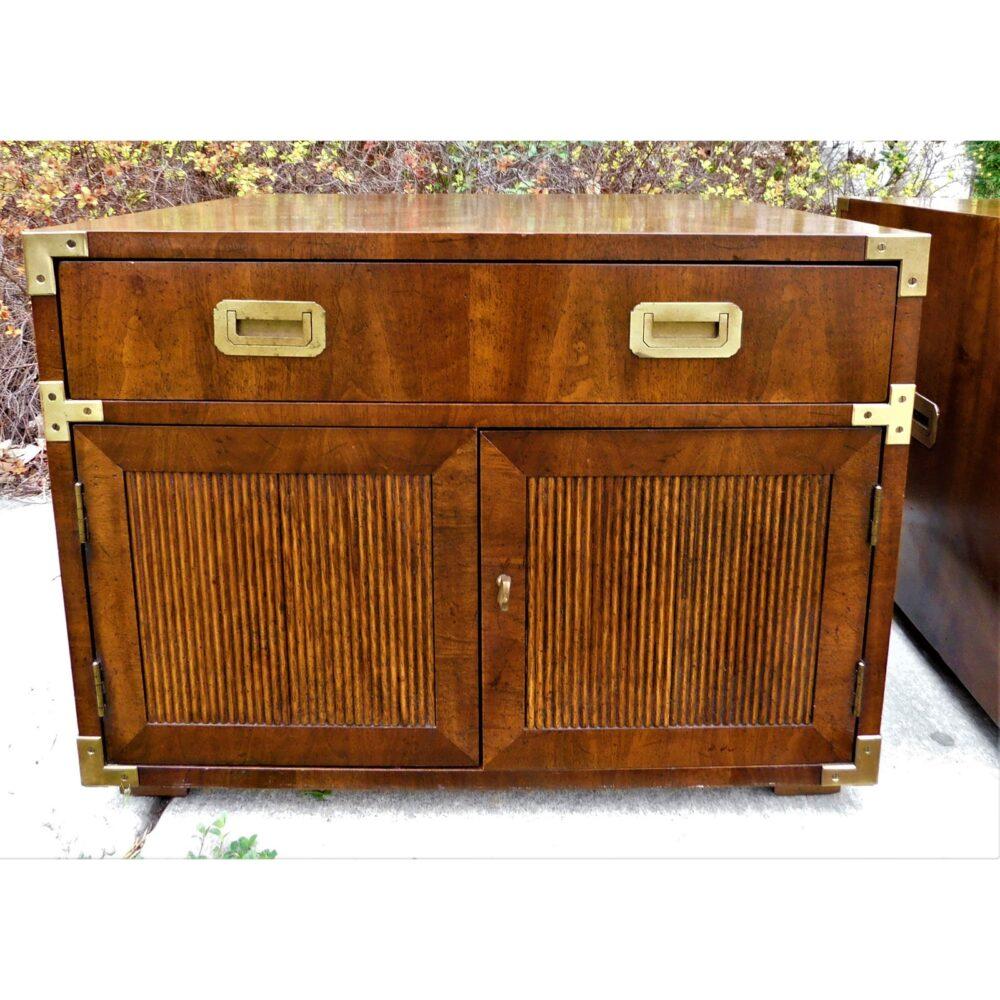 vintage-campaign-henredon-end-tables-a-pair-5041