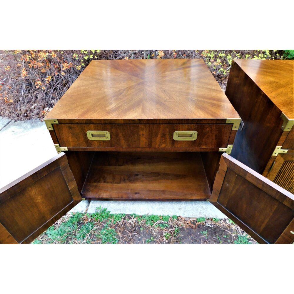 vintage-campaign-henredon-end-tables-a-pair-5693